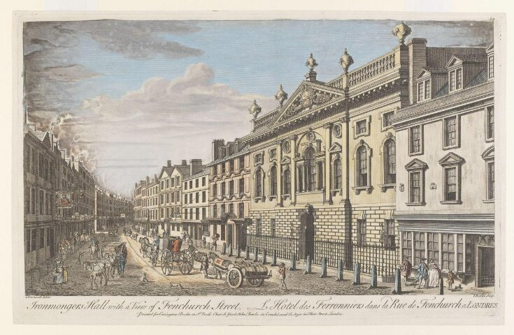 Ironmongers Hall with a View of Fenchurch Street top image