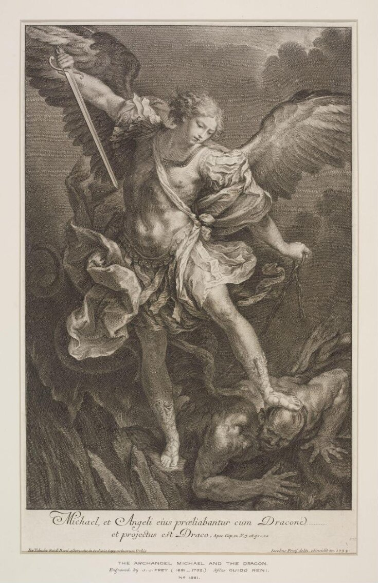 The Archangel Michael top image