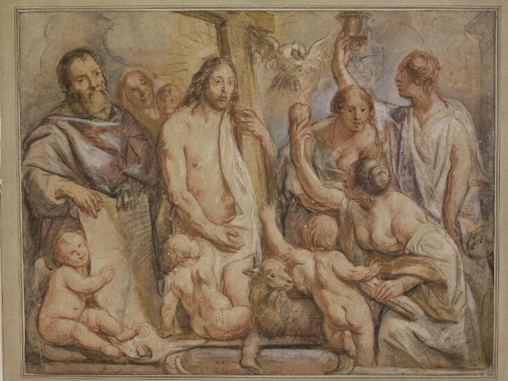 Christ, St Paul, Charity and the Theological Virtues top image