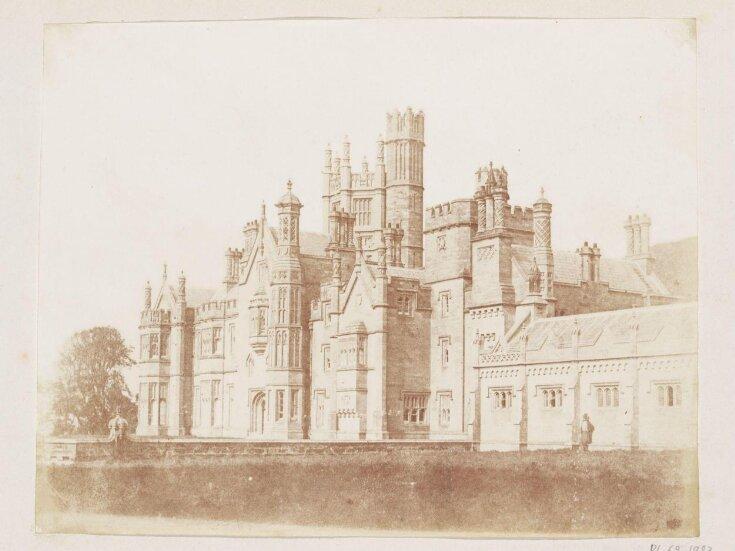 Margam Castle, south front top image