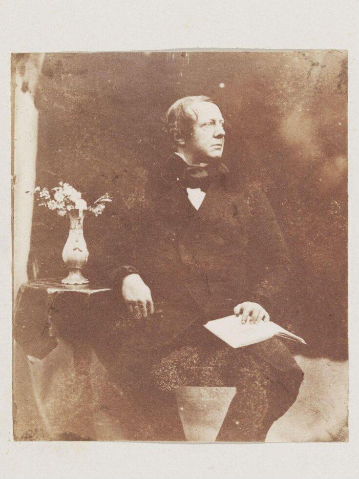 Portrait of Willliam Henry Fox talbot top image