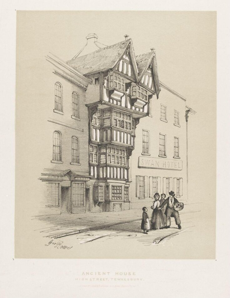 Ancient House, next to the Swan Hotel, High Street, Tewkesbury top image