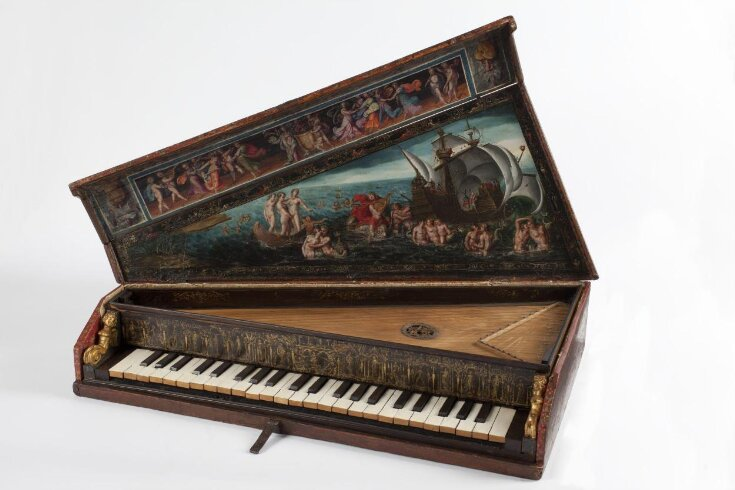 Octave Spinet top image
