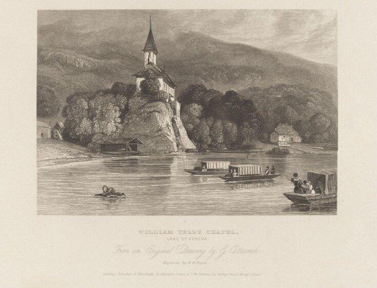 William Tell's Chapel, Lake of Geneva top image