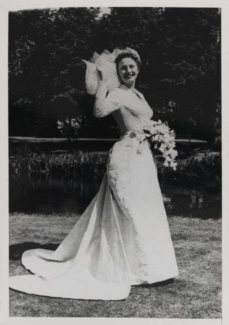 Wedding Dress and Veil top image