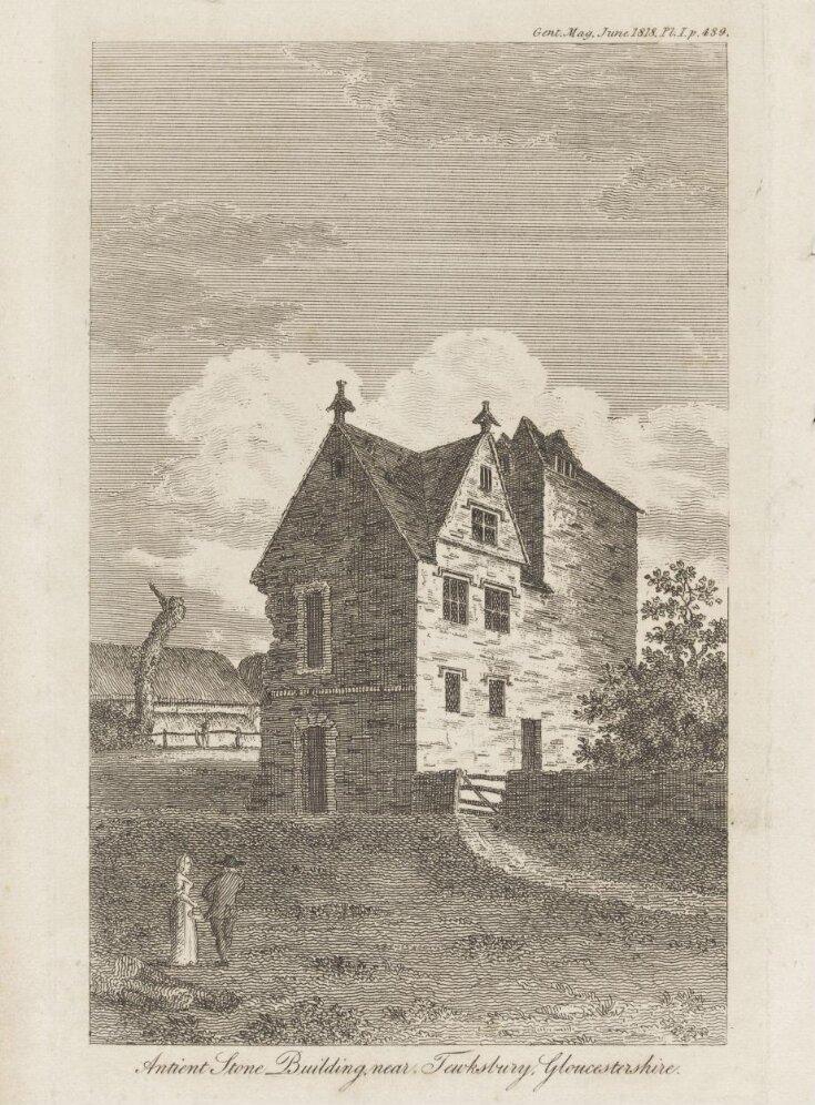 Antient Stone Building, near Tewksbury Gloucestershire top image