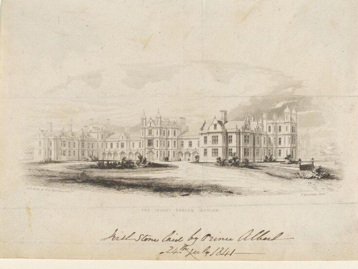 The Infant Orphan Asylum [Wanstead Common, Essex]   top image
