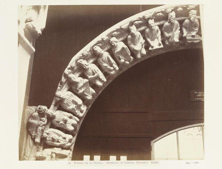 Portico de la Gloria; Archivolt of Central Doorway (Left) top image