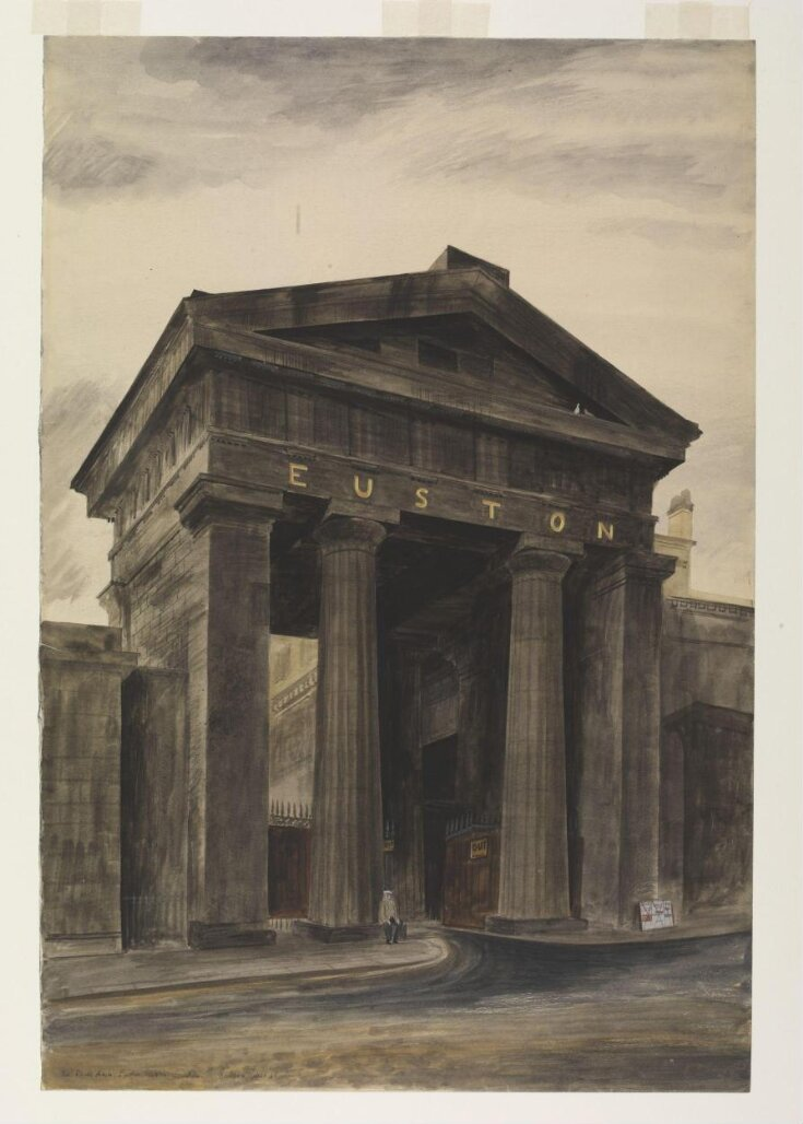 Doric arch, Euston Station, London, NW1 top image