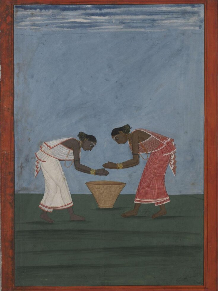 Two women dancing and clapping  top image