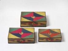 Stackable Sewing Boxes (Jijang Samhap), 지장삼합  thumbnail 1