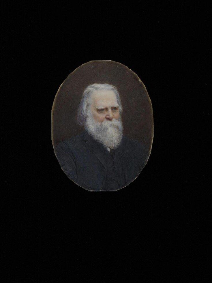 Miniature portrait of an unknown elderly man top image