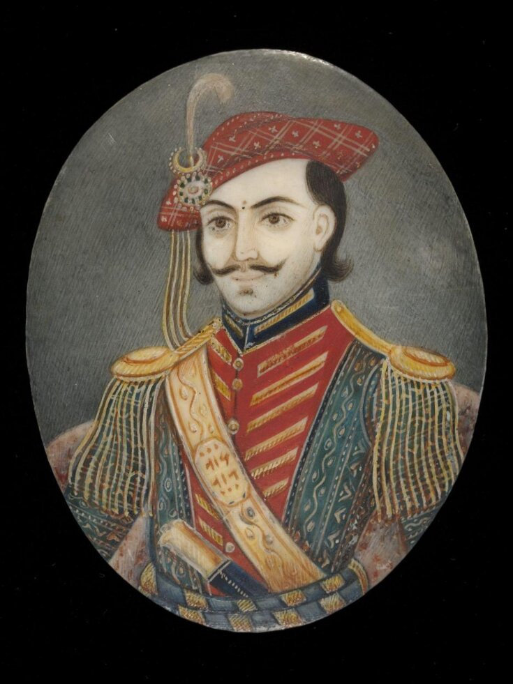 One of two Portraits of Maratha princes top image