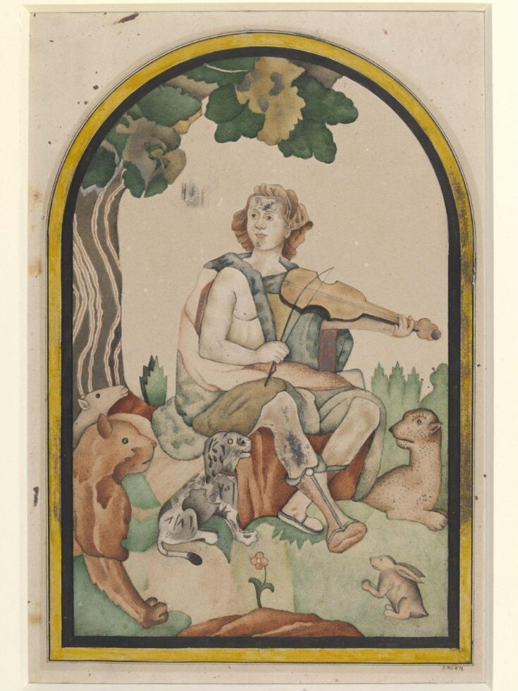 Orpheus panel from the Diwan-i Am, Delhi Fort top image