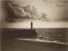Lighthouse and Jetty, Le Havre thumbnail 1