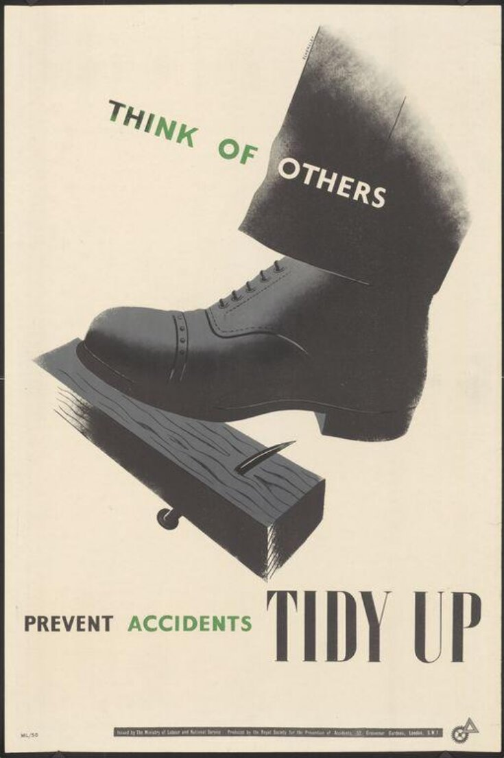 Think of others - prevent accidents tidy up top image