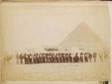 Count Gleichen's fellow officers at Alexandria thumbnail 1