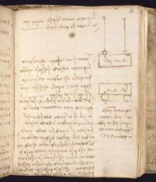 Notebooks of Leonardo da Vinci (1452-1519), vol. II; known as Codex Forster II thumbnail 1