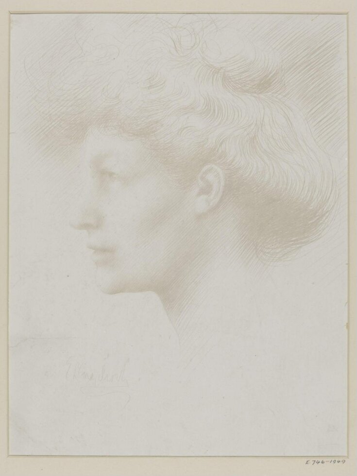 Head of a woman top image