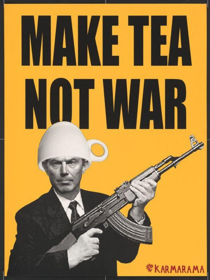 Make Tea Not War top image