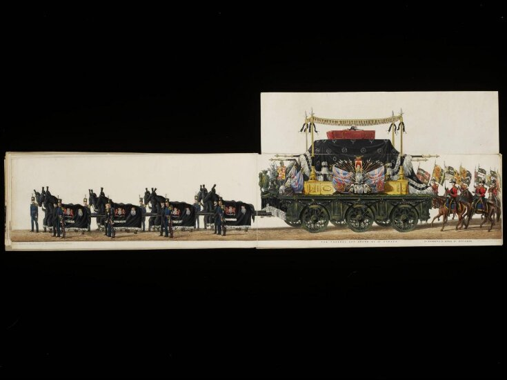 The Funeral Procession of the Duke of Wellington top image