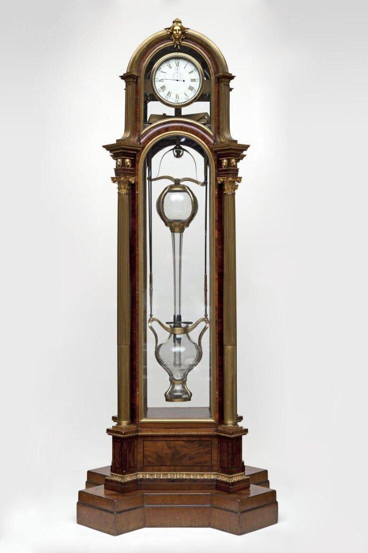 Longcase Clock top image