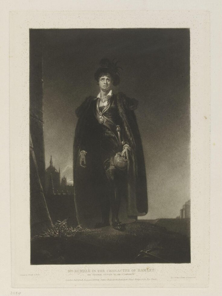 Mr. Kemble in the character of Hamlet top image