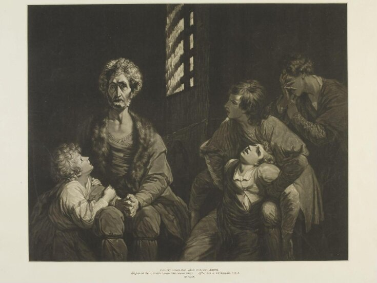 Count Ugolino and his Children top image