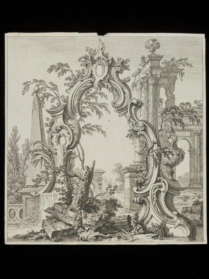 design for a cartouche top image