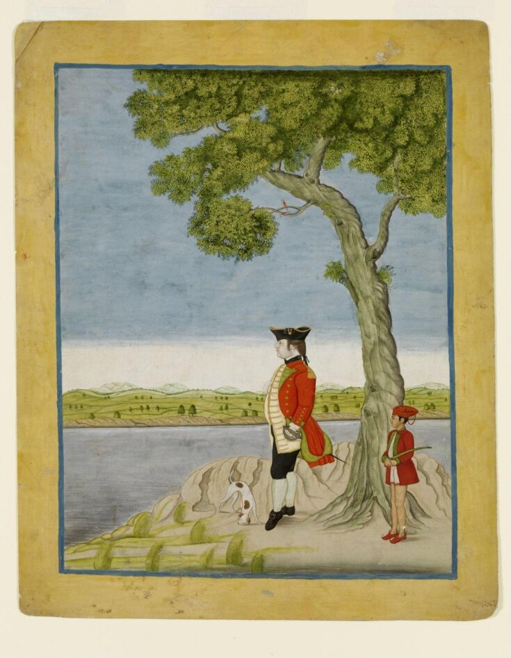 A military officer of the East India Company top image