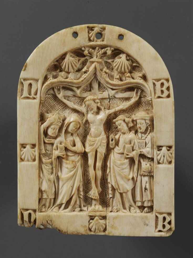 Crucifixion with the Virgin, St John, St Denis and St James the Greater top image