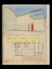 Colours: Decoration of to-day, no.3, January 1936, Written, illustrated and produced by Mr. Chermayeff thumbnail 1