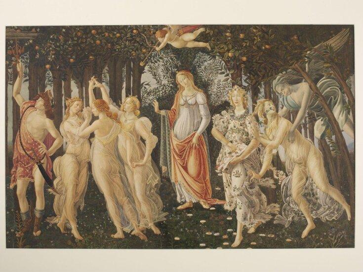 Copy after La Primavera, Sandro Botticelli  in the Uffizi (Florence) top image