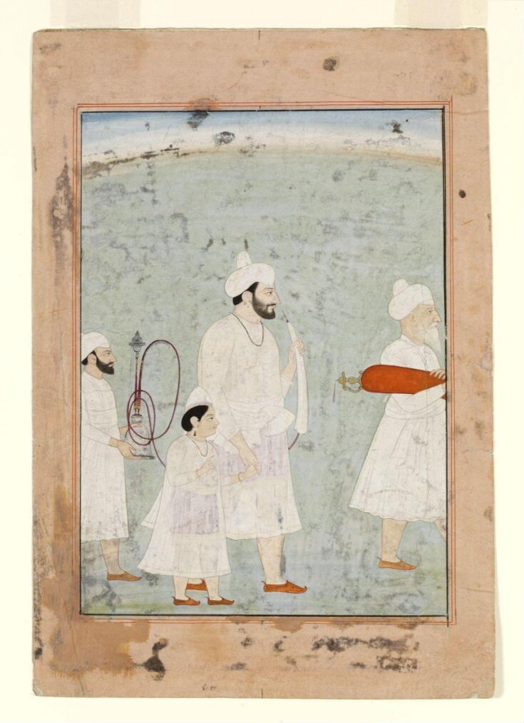 Raja Sansar Chand and Anirudh Chand top image