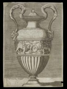 Vase with two handles thumbnail 1