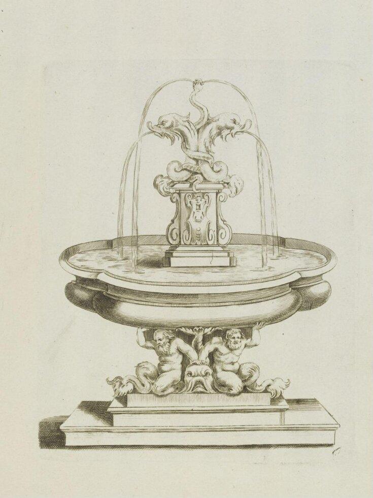 Fontaines et iets d'eau, dessinés d'après les plus beaux lieux d' Italie par Fr. Fanelli Florentin sculpteur du Roi d' Angletere top image