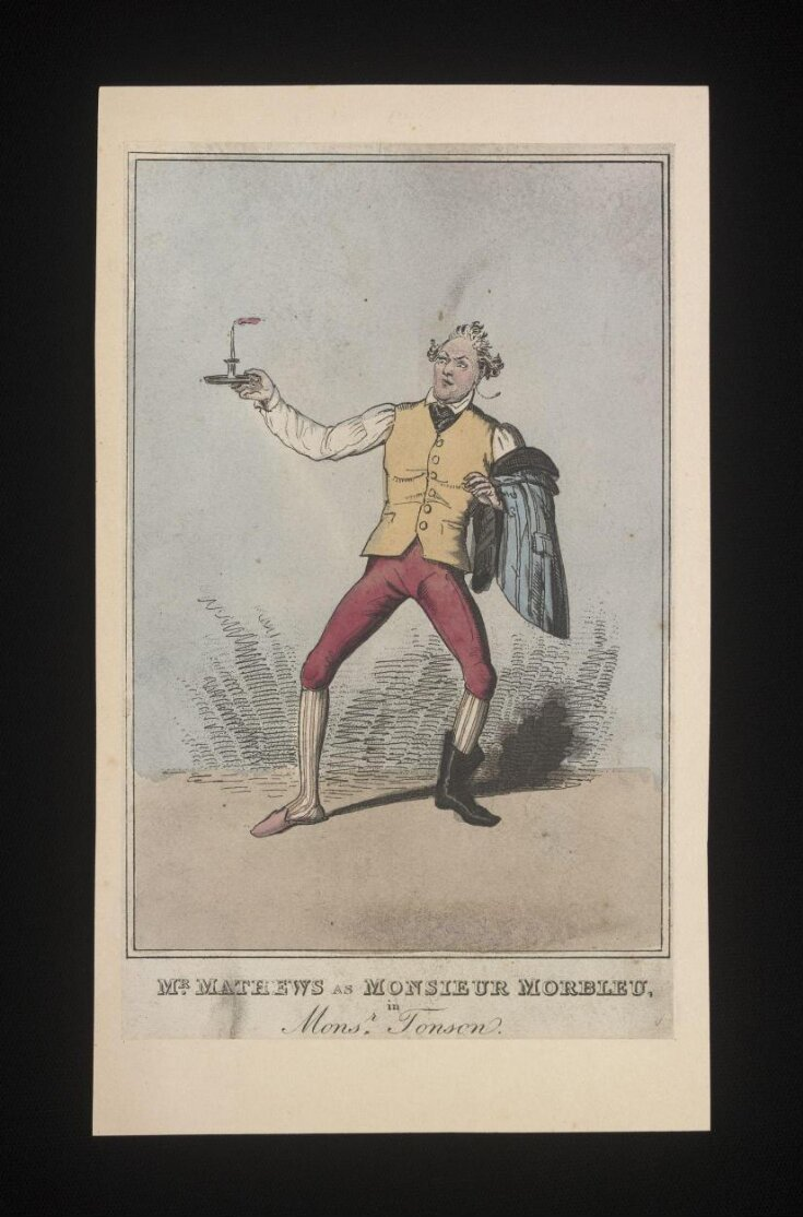 Mr Mathews as Monsieur Morbleu,/in/Monsr.Tonson top image