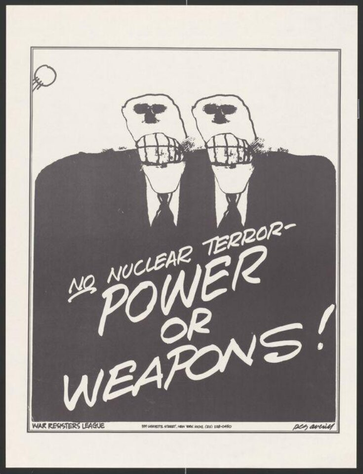 No Nuclear Terror  -  Power or Weapons! top image