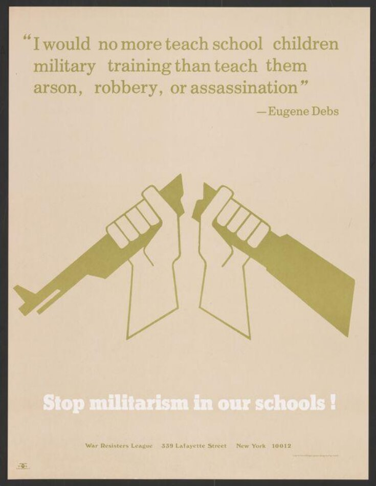 Stop Militarism in our Schools! top image