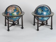 Terrestrial and celestial globes thumbnail 1