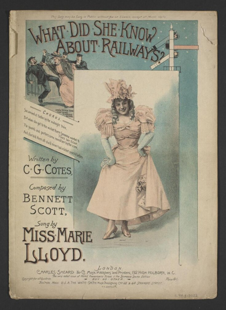 What Did She Know About Railways? top image