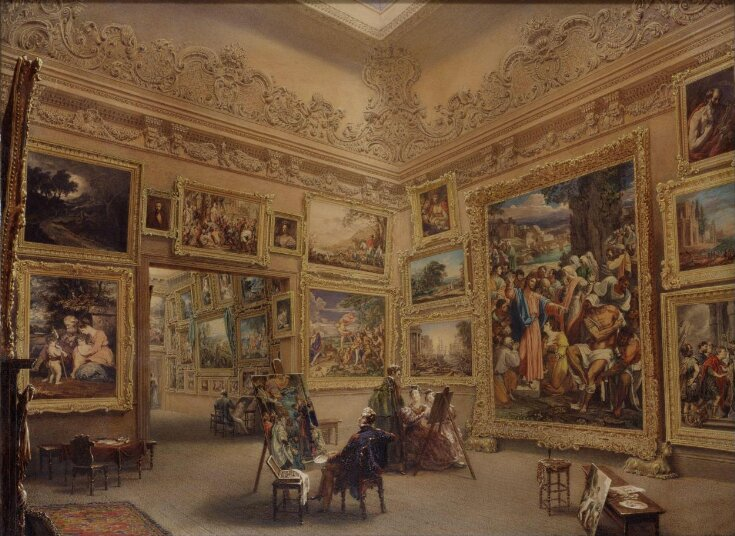 The National Gallery when at Mr J. J. Angerstein's House, Pall Mall top image