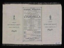 Silk programme for Cinderella thumbnail 1
