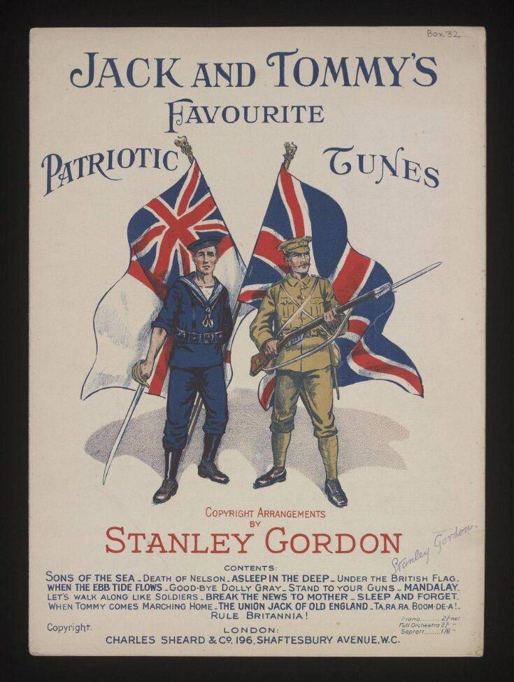 Jack and Tommy's Favourite Patriotic Tunes top image