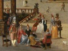 A courtyard of a Venetian Palace thumbnail 1