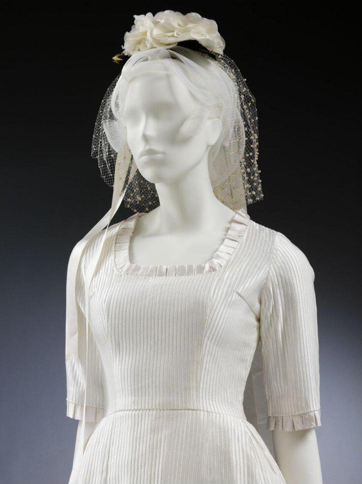 Wedding Dress and Headdress top image