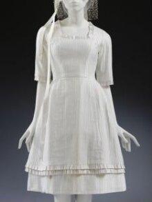 Wedding Dress and Headdress thumbnail 1
