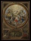 The Ascension and the Incredulity of St Thomas (sketch for the decoration of the chapel at Chatsworth) thumbnail 2