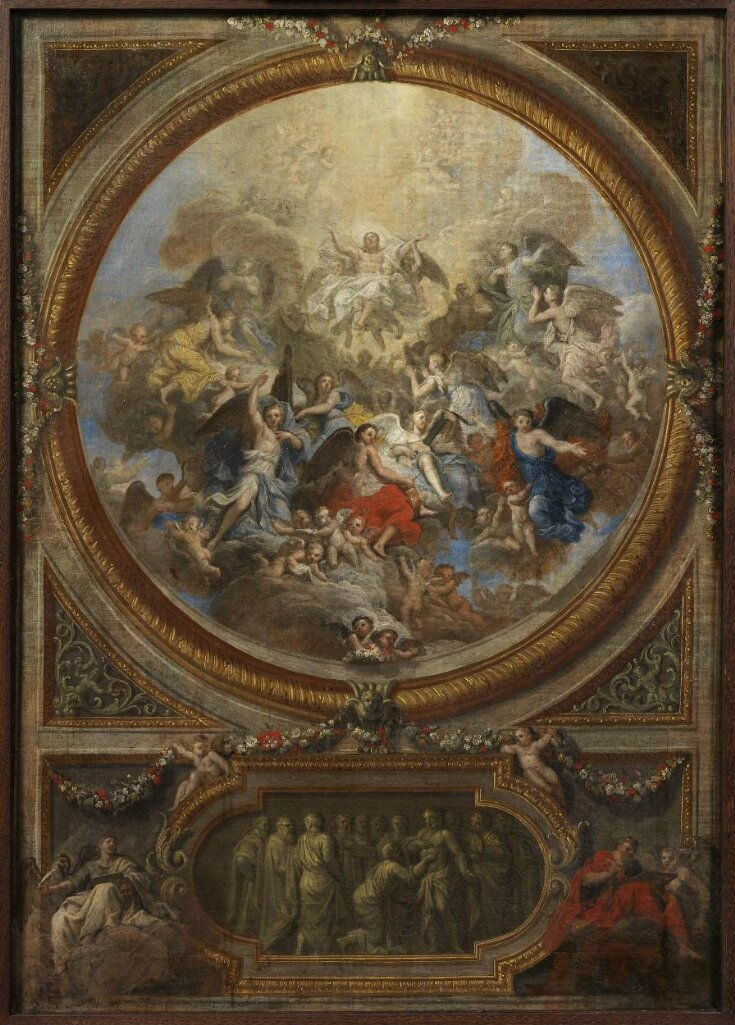 The Ascension and the Incredulity of St Thomas (sketch for the decoration of the chapel at Chatsworth) top image