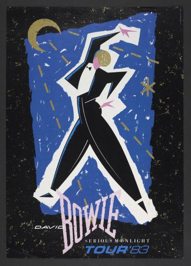 David Bowie Serious Moonlight tour, 1983 top image